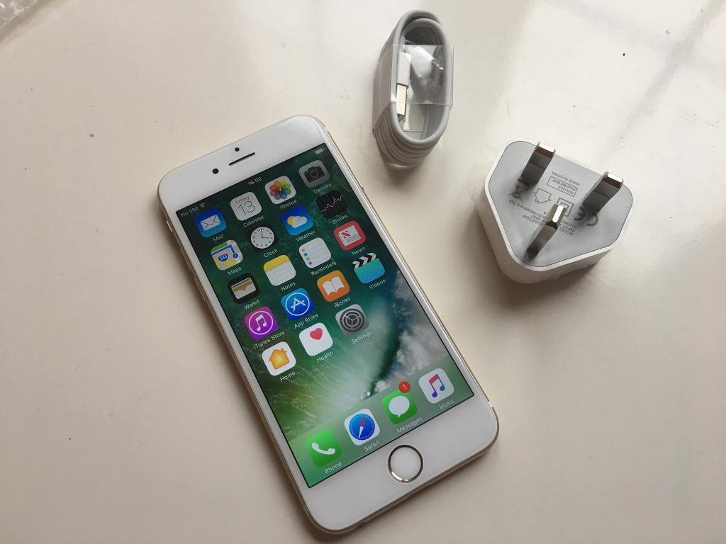 IPhone 6s - 64gb - gold - vodafone lebera networks - good condition