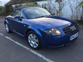 Audi TT 1.8 T 2dr [150] (blue) 2003
