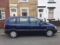 Vauxhall zafira 1.8 2005