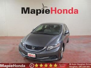 2013 Honda Civic LX|7 Year/160K Warranty,Bluetooth!