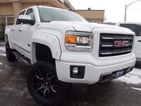 2014 GMC Sierra 1500 SLT with Lift Kit! Loaded with Leather, Rev