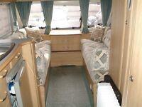 2003 Lunar Freelander 5 berth single axle caravan. Very good condition. Awning, water butt & pump
