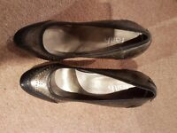 Brand new Faith brown ladies court shoes size 7