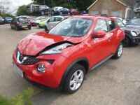 NISSAN JUKE VISIA 1.5 DCi - ND15UOB - DIRECT FROM INS CO