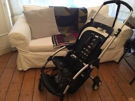 Bugaboo Bee Frame & Brand New Seat + 2016 Red Cocoon