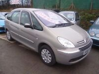 Citroen XSARA PICASSO Excl 92 HDI,1560 cc MPV,FSH,full MOT,nice clean tidy family car,great MPG