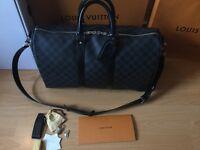 Louis Vuitton keepall 45 Bandouliere Damier graphite