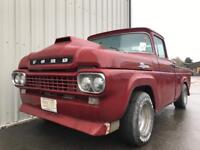 1959 Ford F100 supercharged 5.7 v8 pickup truck Fast!! Advertising/promo/show vehicle classic car