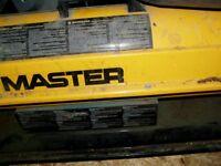 workshop heater diesel or parrafin