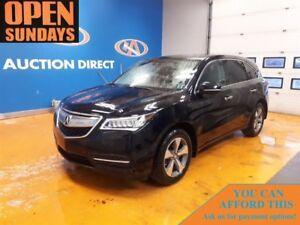 2016 Acura MDX SUNROOF! AWD! 7PASSENGER! FINANCE NOW!