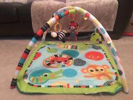 Bright Starts Safari Activity Gym/Playmat