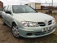 Nissan Almera 1.5 Active 2001 + FULL SERVICE HISTORY + 12 MONTHS MOT DONE + DRIVES SUPERB