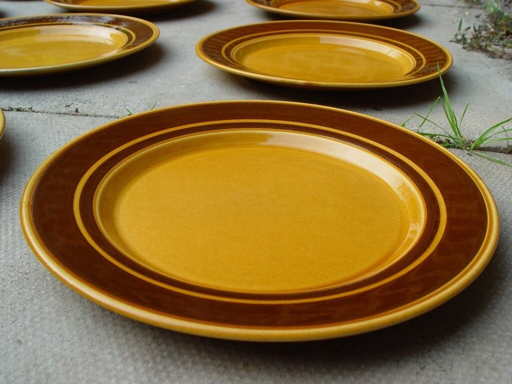 FREE DELIVERY Retro Kiln Craft Royal Alma Plates Mid Century Vintage S