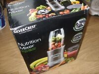 SilverCrest 700W Nutrition Mixer / Nutri Smoothie Maker / Kitchen Blender Used Once Great Condition