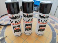 3 x Beldray Stove glass cleaner sprays new and unused
