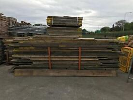 USED scaffold planks / boards