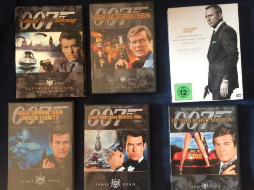 James Bond Filme In Baden Württemberg Göppingen Filme Dvds