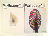 Two back issues of Wallpaper magazine 2015