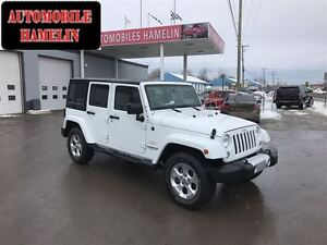 2015 Jeep WRANGLER UNLIMITED Sahara automatique gps 2 toit mags