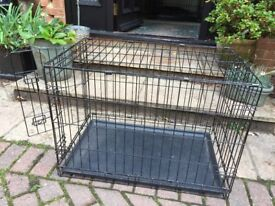 Dog cage for puppy or small dog