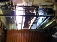 fishtank rack for 3 4ft tanks or 6 2ft tanks