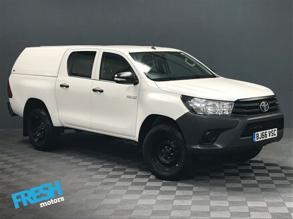 toyota hilux 2 4 active 4wd d4 d double cab 2016 66 march 2019 toyota warranty in norwich. Black Bedroom Furniture Sets. Home Design Ideas
