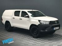 Toyota Hilux 2.4 Active 4WD D4-D Double Cab 2016(66) - March 2019 Toyota Warranty