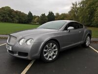 05 plate Bentley continental 6.0 GT full history with full mot