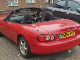 Lovely little MX5 1.6 ready for the summer. Cheap to run and insure. Very reliable.