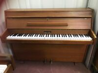 Upright Zender piano. FREE DELIVERY