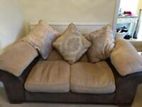 DFS 3 seater and 2 seater