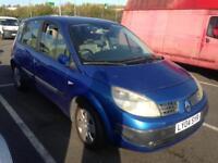 2004 Renault scenic 1.4 expression blue 5 Door