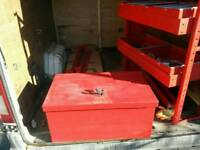 Toll box and shelfs fits Ford Transit and other vans