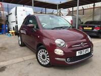 FIAT 500 LOUNGE 1.2, 2017 **ONLY DONE 12k MILES**TOP SPEC**NEW M.O.T**STUNNING CAR**BARGAIN!!