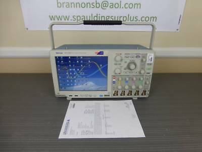 Tektronix Mso5204 4 Ch 2 Ghz 10 Gss Mixed Signal Oscilloscope - Calibrated