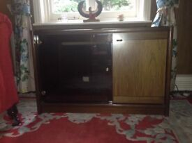 Solid wood TV/audio cabinet