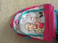 Barbie travel suitcase