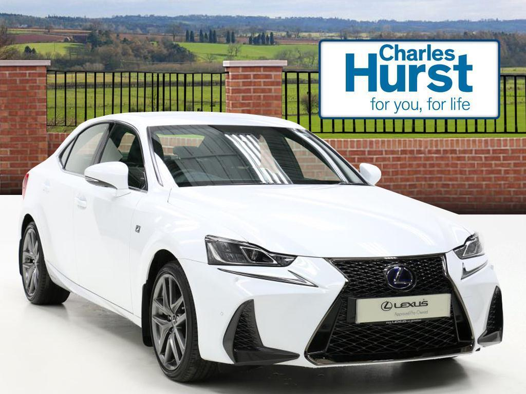 Lexus Is 300h F Sport White 2017 02 10