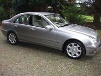 Beautiful Mercedes C320 CDi Elegance Auto Cheap Trade In Welcome