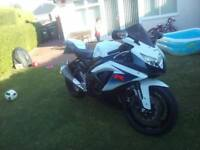 Suzuki gsxr 750 2010 L0 low mileage service history excellent condition p/x possible