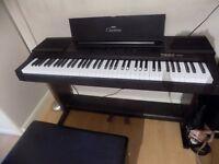 Yamaha Clavinova Electronic cvp Keyboard, 76 keys.