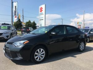 2015 Toyota Corolla LE ~Low Km's ~Heated Seats ~Backup Camera