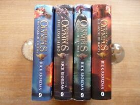 Heroes of Olympus - by Rick Riordan