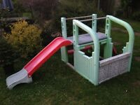 SOLD! Garden play slide