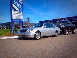 2006 Lexus LS 430 Loaded Heated And Cooled Seats Navigation