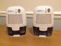 Two Dehumidifiers