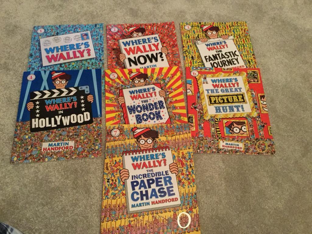 Where's Wally Book Collection