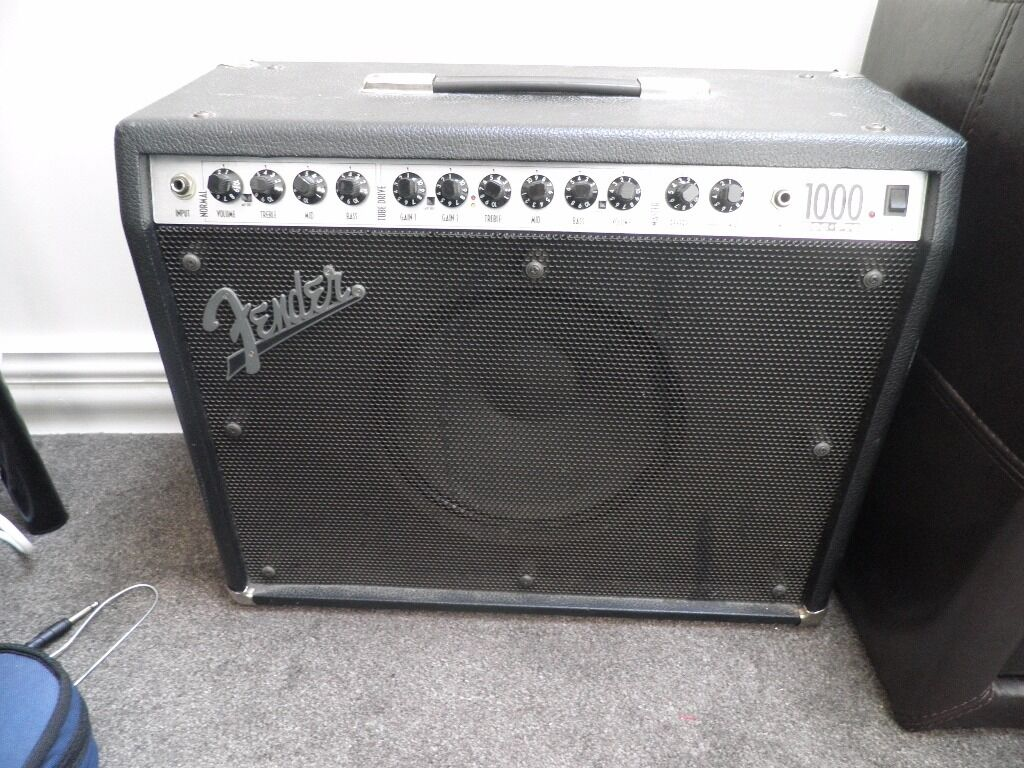 Fender Roc Pro 1000 Combo Guitar Amp Fender Roc Pro 1000 Amp
