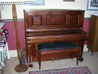 Overstrung Upright Piano for sale