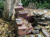 FREE Roof tiles, rocks and bricks